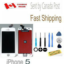 For iPhone 5 White Replacement Front Glass LCD Screen Digitizer Assembly