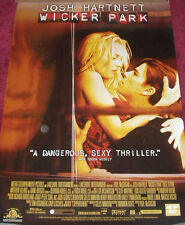 Cinema Poster: WICKER PARK 2004 (One Sheet) Josh Hartnett Diane Kruger