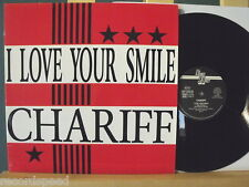 "★★ 12"" Maxi - CHARIFF - I Love Your Smile (Rap Version - Happiness Remix)"