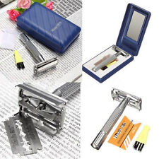 Mens Safety Classic Traditional Double Edge Shave Shaving Hair Blade Razor KY