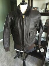 G-1 Barely Worn Excelled DSCP Leather Flight Jacket USMC  USN S42 Lrg Nicest!