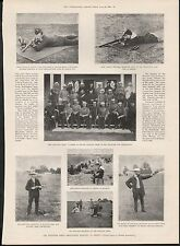 1899 THE NATIONAL RIFLE ASSOCIATION MEETING AT BISLEY