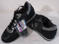 NEW Skechers OG 99 Lacie Womens Casual Jogging Sneakers Shoes 6 Black MSRP$70