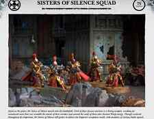 Warhammer 40k Sisters of Silence Squad The Horus Heresy Burning of Prospero
