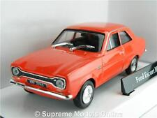 FORD ESCORT MK1 MODEL CAR RED 1:43 SCALE CARARAMA CR042 ISSUE 251XND 60'S K8Q