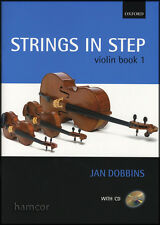 Strings in Step Violin Book 1/CD Learn to Play Beginner Method by Jan Dobbbins
