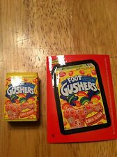 TOPPS WACKY PACKAGES COLLECTIBLE ERASER SERIES 2 FOOT GUSHERS 5 MINIATURE TOY