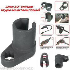 Universal 22mm 1/2'' Oxygen Sensor Wrench Offset Removal Flare Nut Socket Tool