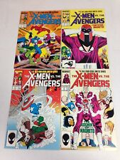 The X-Men Vs. The Avengers #1 #2 #3 #4 Wolverine Captain America