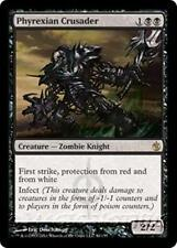 PHYREXIAN CRUSADER Mirrodin Besieged MTG Black Creature — Zombie Knight RARE