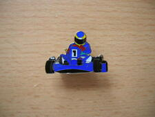 Pin Anstecker Kart blau Rennkart Art. 0654 Badge Spilla Oznak