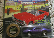 Johnny lightning diecast car limited edition 1969 OLD'S 442 series 3 #  08297