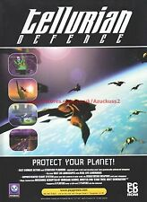 Tellurian Defence Psygnosis 1999 Magazine Advert #7353