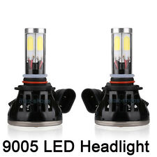 A Pair 6000k White G5 LED Headlight High Beam 80W Light Bulbs 9005 For Chevrolet