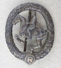 original  Reiterabzeichen bronze L.Chr. Lauer Nürnberg-Berlin