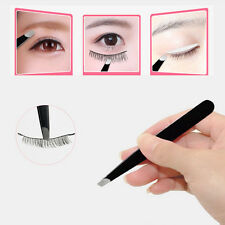 Fashion Pro Slanted Eyebrow Tweezers Stainless Steel Hair Beauty Makeup Tweezer