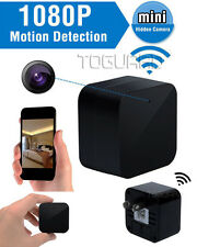 TOGUARD Wall Charger Camouflage Hidden Camera Security 1080P Wifi App Control