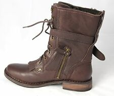 New UGG Australia Women' JENA 1003619 Java Chocolate Millitary Boots Sz Us 12