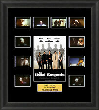 THE USUAL SUSPECTS 1995  MOUNTED FRAMED 35MM FILM CELL MEMORABILIA