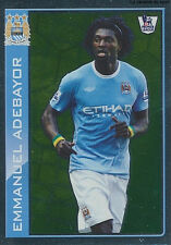 N°276 ADEBAYOR # TOGO MANCHESTER CITY.FC Premier League 2010 TOPPS STICKER