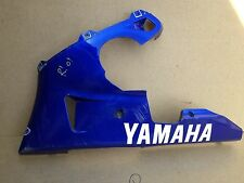 YAMAHA YZF 1000 R1 5JJ  L/H LOWER BELLY FAIRING PANEL BLUE