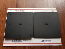 SONY PLAYSTATION 4 PS4 SLIM CASE HOUSING SHELL CUH-2015A MINT FAST SHIPPING