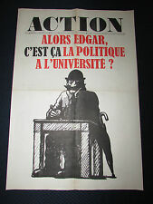 RARE JOURNAL ACTION..UNES-AFFICHES.n°25.....11 septembre 1968..