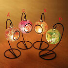 Mosaic Glass Lantern Candle holders Hanging Candle lantern Garden Light