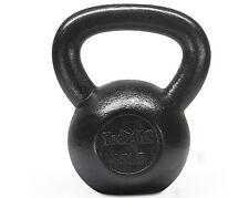 Kettlebell 45 lbs Hand Weight Solid Cast Iron Body Fitness Gym - ²KKYVC