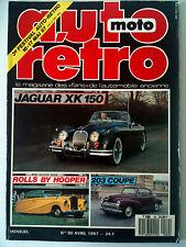 AUTO RETRO n°80; Jaguar XK 150 / Rolls By Hooper / 203 Coupe