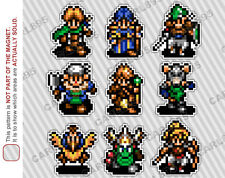 16bit Shining Force 2 Main Hero Cast Car/Refrigerator Magnets