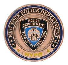 U.S. United States New York Police Department NYPD Challenge Coin