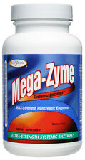Mega-Zyme (+Bonuses) Pancreatic & Systemic Digestive Enzymes (Enzymatic Therapy)