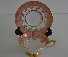 ROYAL STAFFORD  BONE CHINA TEA CUP WITH SAUCER