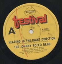 """THE JOHNNY ROCCO BAND   Rare 1975 Australian Only 7"""" OOP Funk Single """"Heading"""""""