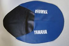 Motorcycle seat cover - Yamaha TT600S in blue & black