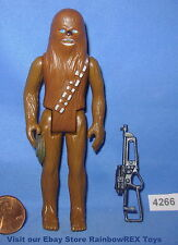 "Star Wars Vintage 1978 CHEWBACCA With Rare Green Pouch Variant 3.75"" COMPLETE"