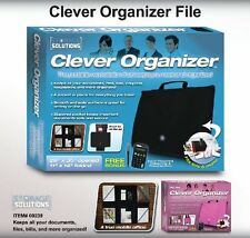 As Seen On Tv Clever Organizer Pink ( File and Organize for School or Work )