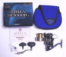 Excellent!! Shimano STELLA SW5000PG Spinning Reel from Japan