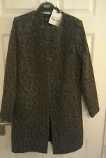 MARKS & SPENCER  PER UNA SPEZIALE WOOL BLEND COAT SIZE 12 BNWT