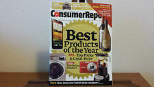 NEW 2012 CONSUMER REPORTS BEST PRODUCTS OF THE YEAR BUYING GUIDE NOVEMBER 2012