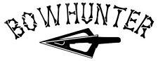 Bowhunter 5 X 2 Decal- Window sticker Car RV Truck ATV  Hunting Outdoor Vinyl