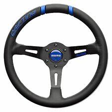 MOMO Drifting Steering Wheel - Blue Inserts - 330mm - Dished