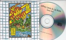 JEFFREY LEWIS & LOS BOLTS Outta Town 2015 UK 1-track promo test CD