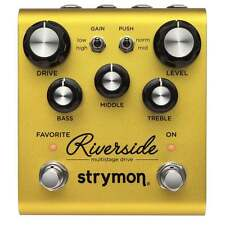 Strymon Riverside Multistage Overdrive / Distortion Guitar or Bass Effect Pedal