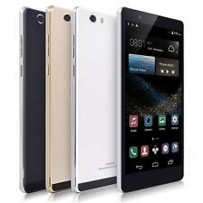 "Unlocked 6"" Smartphone Android 4.4 2Sim Straight Talk AT&T 3G+GSM Smartphone GPS"