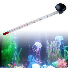 Glass Meter Fish Aquarium Tank Submersible Thermometer With Suction Cup 14cm
