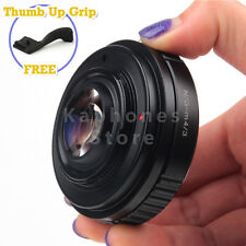 Camera Speed Booster Focal Reducer Adapter For Nikon G to Micro Four Thirds M4/3