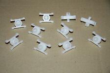 10x Klammer Clips für Zierleiste Retainer Clips 51131829904 BMW e12 e21 e30