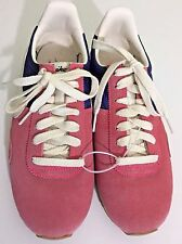 Sz 8 Nike Womens Pink Blue Retro Running Shoes '14 Pre Montreal Racer 555258405